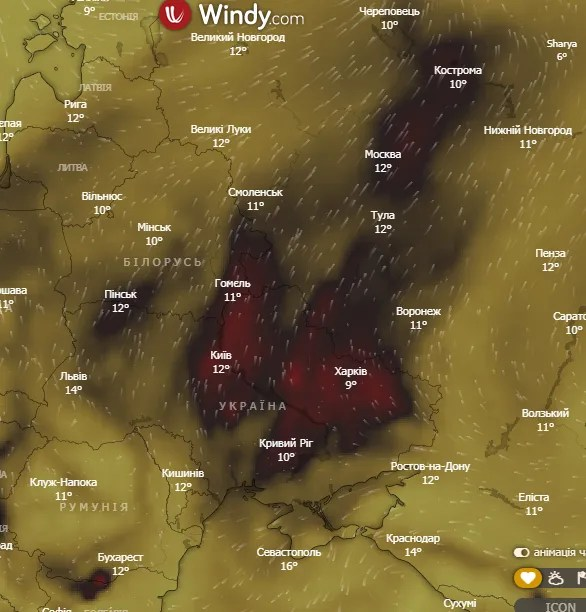 Країну накрив отруйний смог: коли він зникне і чого остерігатися українцям