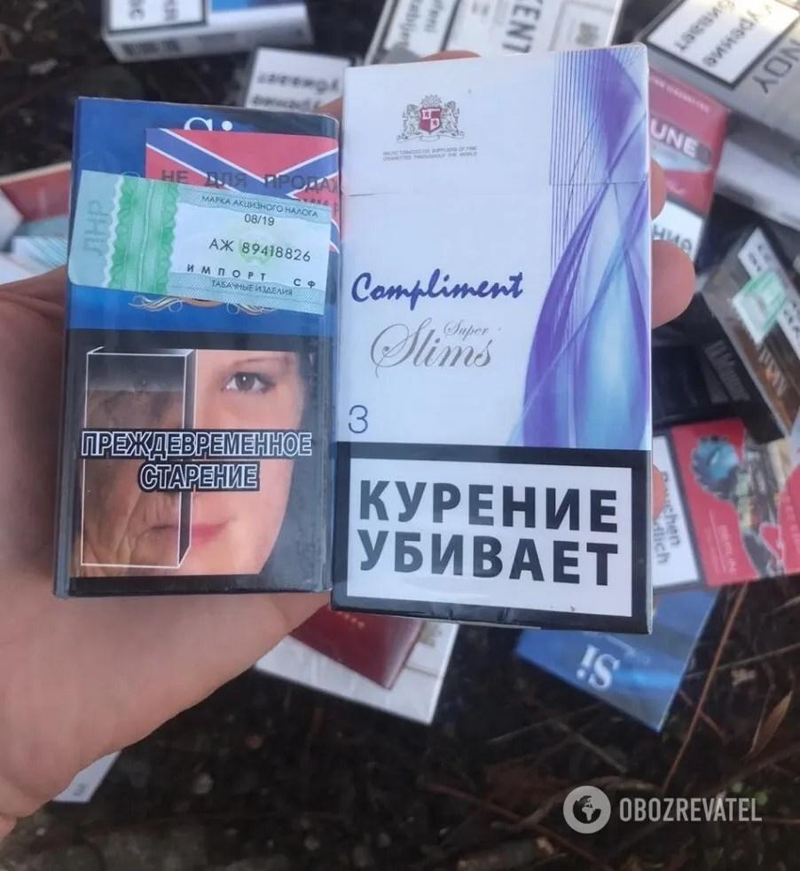 """Контрабанда сигарет в """"ЛДНР"""""""