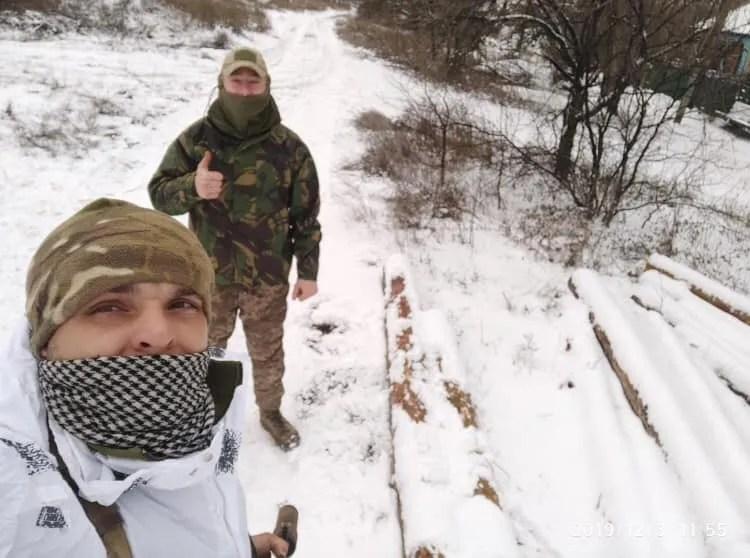 Дмитрий Темный (впереди)