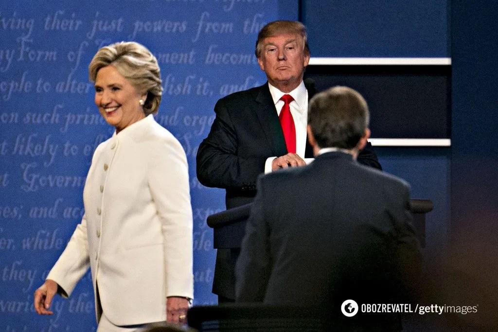Дебати Трампа і Клінтон