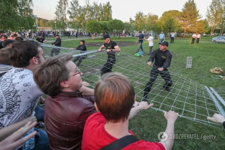 В Екатеринбурге развеялся главный миф Путина