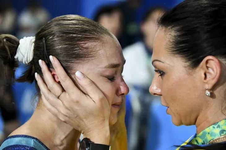 Анастасія Бачинська – спортивна гімнастика. Перемога у вільних вправах.