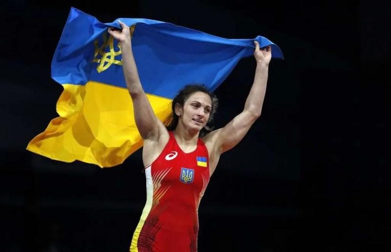 Юлія Ткач – вільна боротьба. Перемога у ваговій категорії до 62 кг