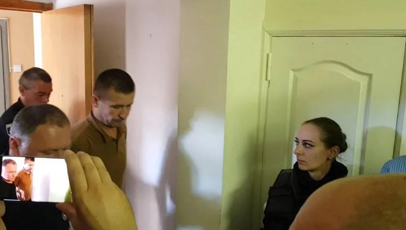 Володимир Петровець на суді