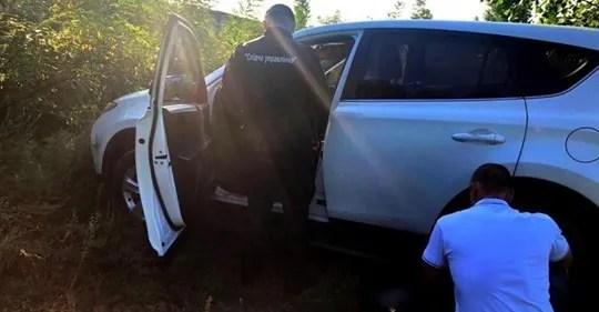 Поліція знайшла автомобіль, на якому виїхали жінки