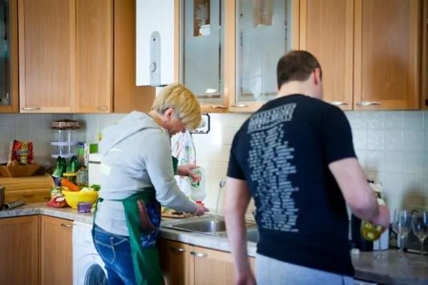 Гонтарева раніше проводила екскурсію по будинку її сім'ї в Ірпені