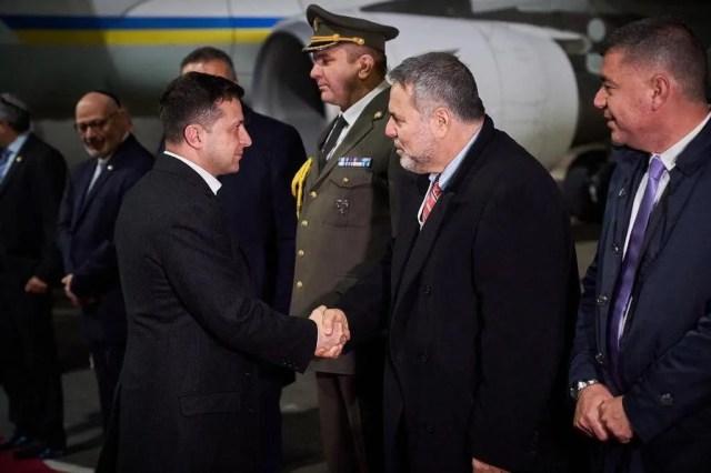 Зеленский прибыл с рабочим визитом в Израиль
