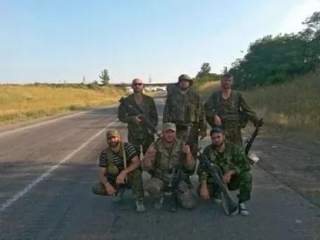 Російські військові на Донбасі 2014 року