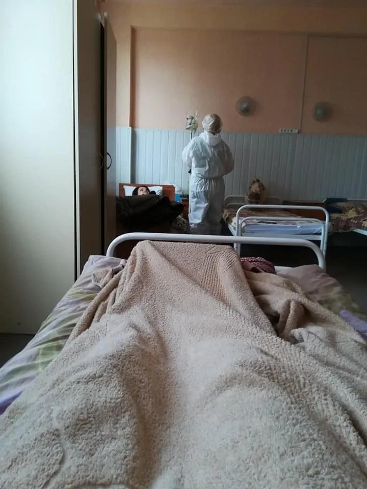 Петухова тепло відгукнулася про медсестер