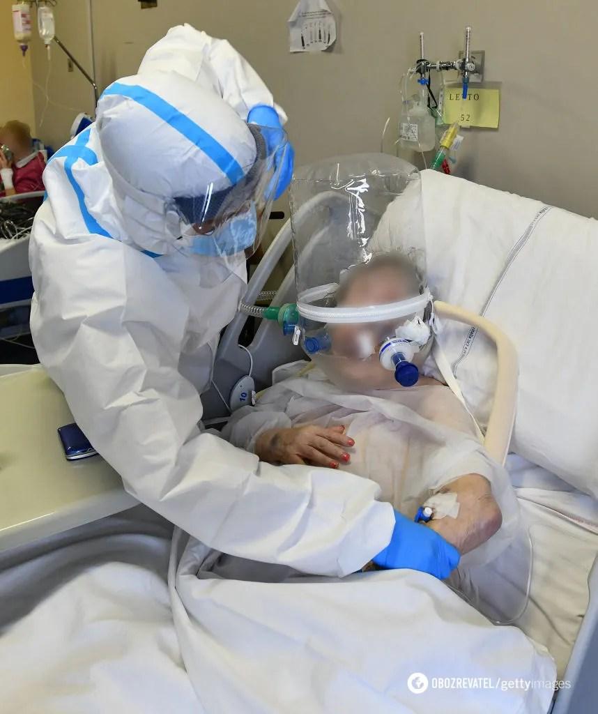 У лікарнях області хворим не вистачає кисню