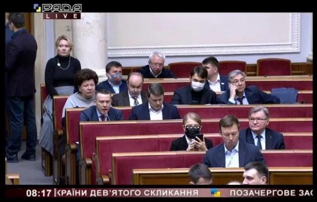 Тимошенко в маске