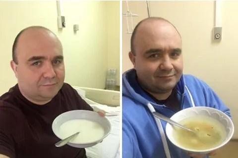 Лукашев в больнице