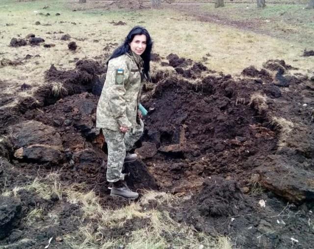 Последствия обстрела Новолуганского в декабре 2017 года.