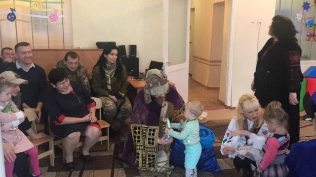 Праздник в детском саду в Новолуганском.