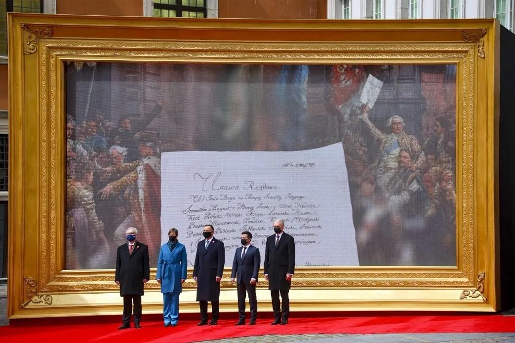 Підписання декларації президентів Польщі