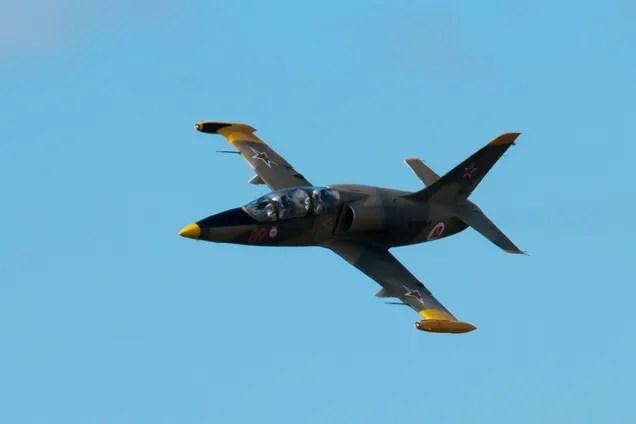 Турецкие войска сбили сирийский военный самолет L-39