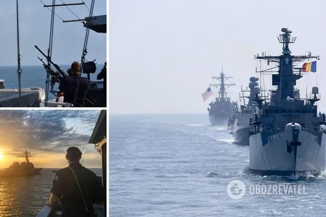 Американський адмірал сказав, чи можуть кораблі НАТО першими відкрити вогонь по силах РФ у Чорному морі