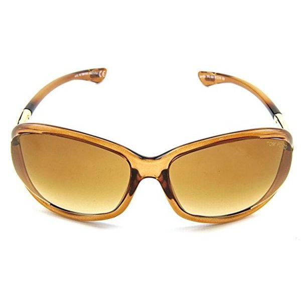 Tom Ford Tf8 602 61 16 Jennifer Sunglasses Brown Frame
