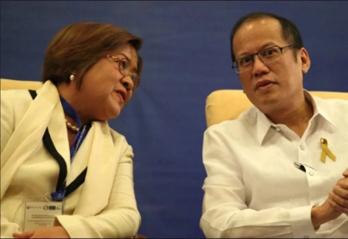 Image result for noynoy aquino and delima