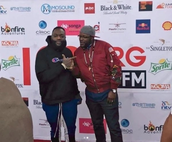 American rapper Rick Ross arrives in Kenya ahead of much awaited show