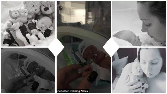 Heartbreaking! Mother whose baby died hours after birth spends 3 DAYS cuddling her dead child