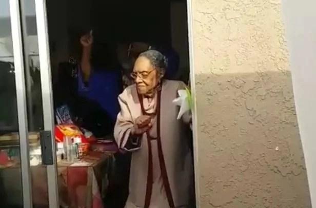 Great-Grandma Dances to Bruno Mars on her 100th Birthday (photos, video)