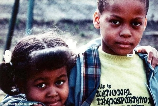 These childhood pictures of Michelle Obama are just the