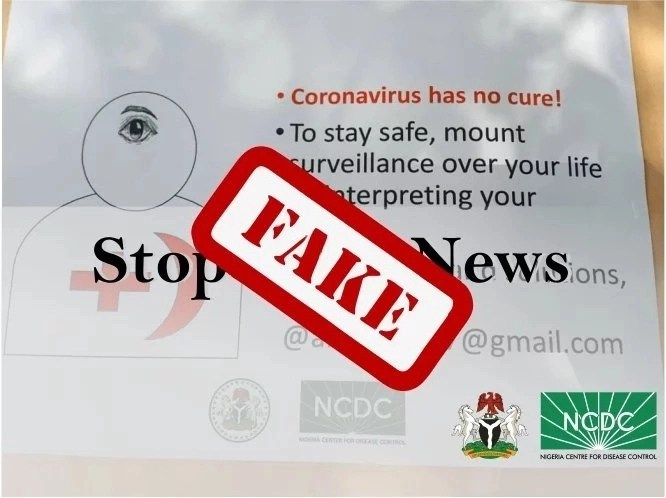 Nigeria: NCDC distant itself from flyer circulating for dream interpretation services to prevent COVID-19