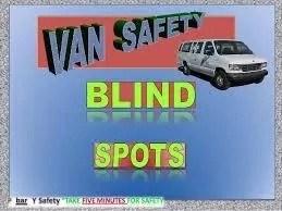 Work van Safety checklist and Tips