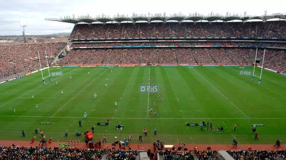Ireland's largest sports stadium is now serving as a drive-thru coronavirus testing site