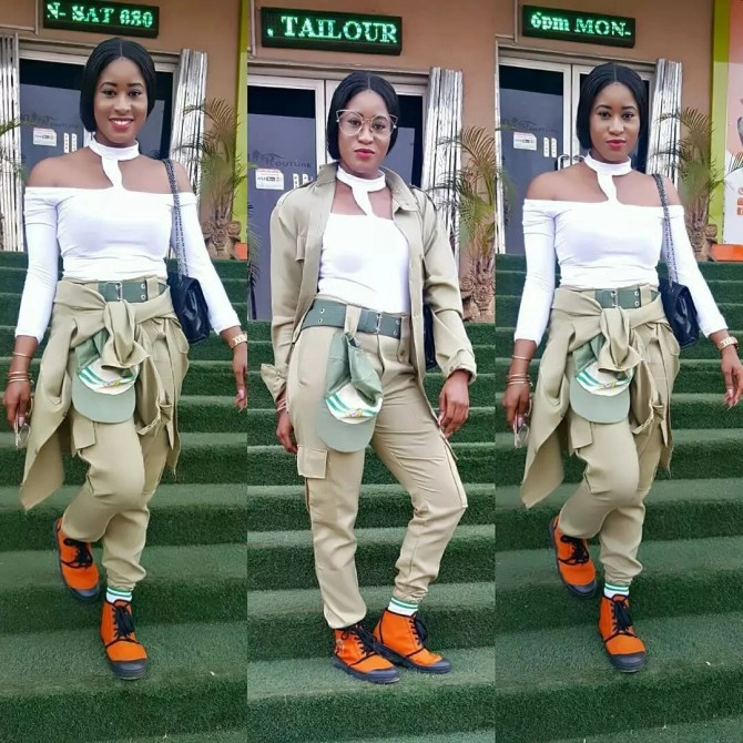 smngoz4ol3ocjq5p2.496066a0 - NYSC Most beautiful , Sexy , Dope , Frosh and Delicious Female Corps Members