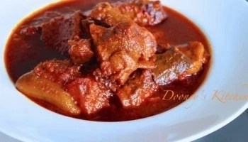 How To Prepare Alapa Stew With Beef Meat