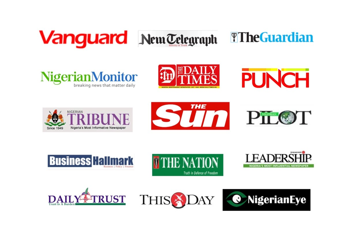 Top Ten (10) Nigerian Newspaper