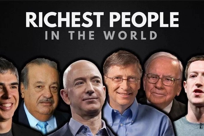 Top 10 Rich List in Various Fields