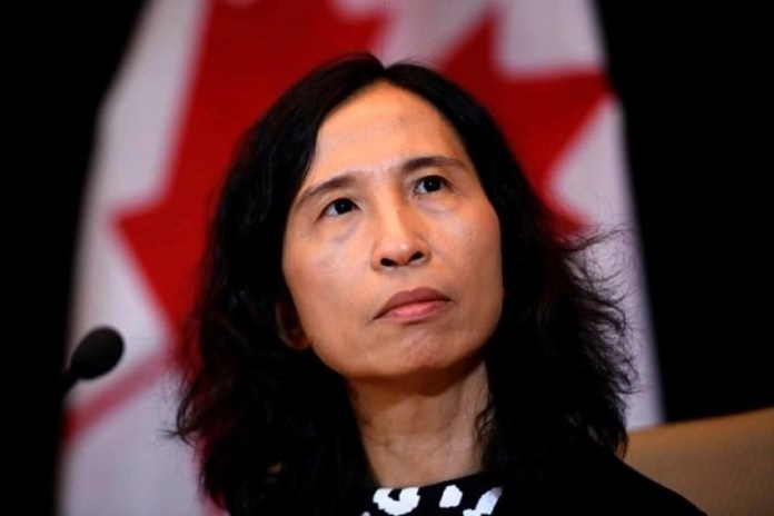 Canada's chief public health officer Theresa Tam vague on number of health-safety workers are at airports