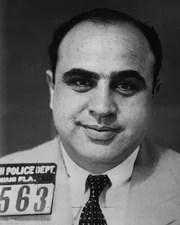 Gangster Al Capone