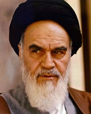 Supreme Leader of Iran Ayatollah Khomeini