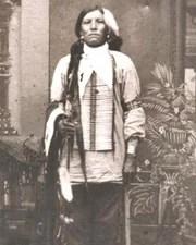 Native American War Leader Crazy Horse
