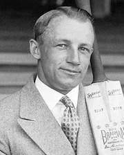 Cricket Legend Donald Bradman