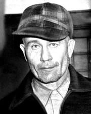 Murderer and Body Snatcher Ed Gein