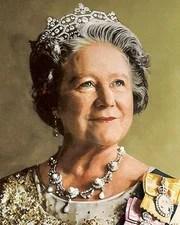 Consort of George VI Queen Elizabeth, the Queen Mother