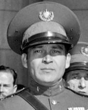 Cuban President and Dictator Fulgencio Batista