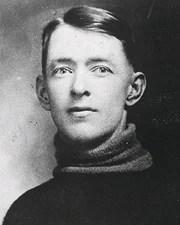 NHL Goalie Georges Vezina