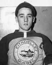 NHL Goalie Jacques Plante