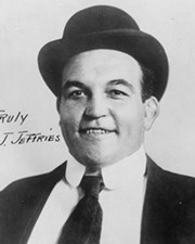Boxer and World Heavyweight Champion James J. Jeffries