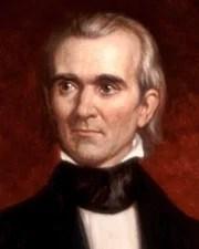 11th US President James Knox Polk