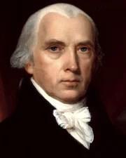 4th US President James Madison