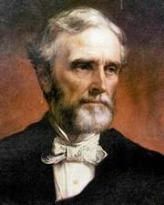 President of the Confederate States of America Jefferson Davis