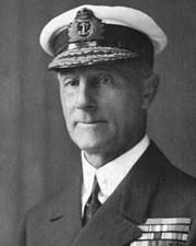 British Admiral of the Fleet John Rushworth Jellicoe