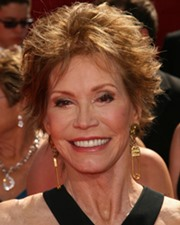Actress Mary Tyler Moore